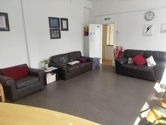 Hype Dance Waiting Area / Reception